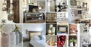 55 Gorgeous DIY Farmhouse Furniture and Decor Ideas For A ...