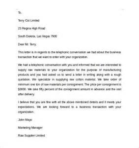 Basic Business Letter Format Sample