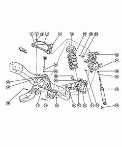 1993 Dodge Dakota Bushing  Lower Control Arm  Rear