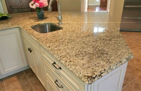 Island Ideas For Small Kitchen - venetian gold granite kitchen countertops with white cabinets jburgh homesjburgh homes