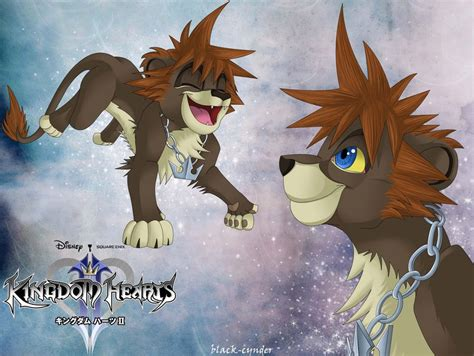 Lion Sora By Black-cynder On Deviantart