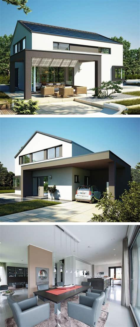 Einfamilienhaus Mit Moderner Giebel Architektur