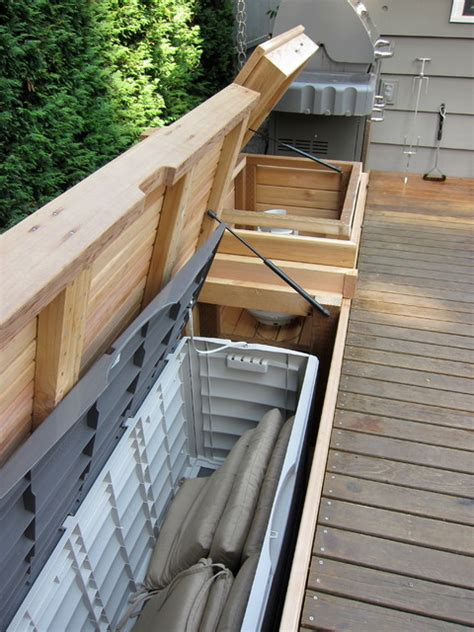 built in patio bench seating built in bench with storage patio furniture and