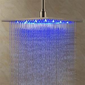 lumiere douche italienne maison design wibliacom With carrelage adhesif salle de bain avec led lumiere naturelle