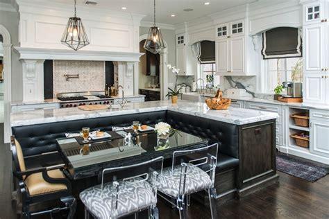 Kitchen Island Banquette   Contemporary   kitchen