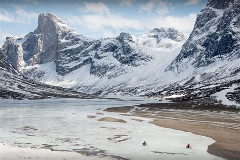 island  ice bikepacking baffin island bikepackingcom