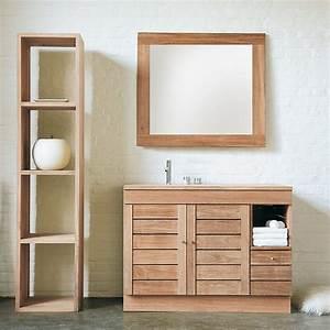 Meuble Deux Portes : meuble de salle de bain nomad deux portes et un tiroir ~ Teatrodelosmanantiales.com Idées de Décoration