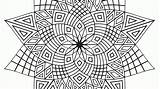 Coloring Pages Geometric Simple Popular sketch template