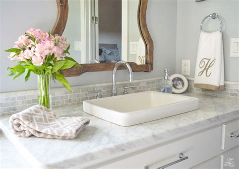 A Transitional Master Bathroom Tour-zdesign At Home