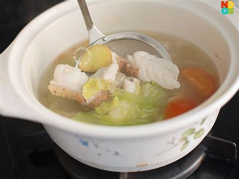 noobcook fish soup grouper recipe