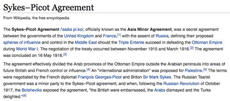 find truth   sykes picot agreement