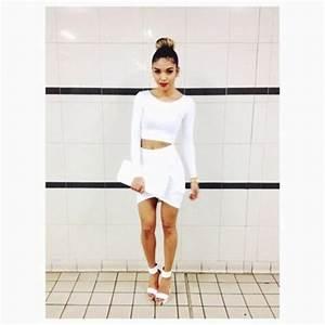 Skirt: white, white skirt, white outfit, white ootd ...