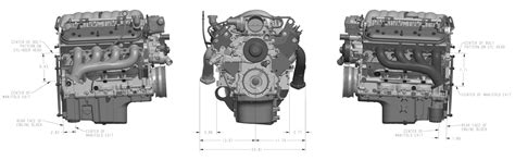 Gm 5 3 Engine Diagram by 3 5l Ecoboost Engine Diagram Cad Data 3d Model Ford