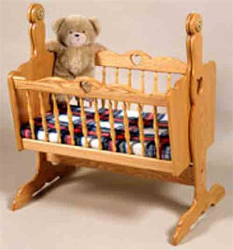 doll cradle plans includes