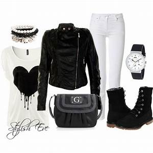 Black and White Winter 2013 Outfits for Women by Stylish ...