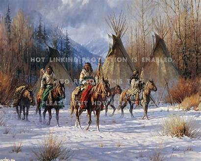 Native Snow Horses Americans Tipi Wallpapers American