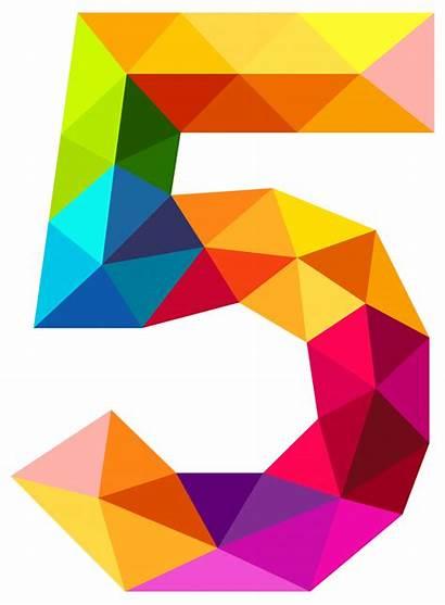Clipart Fraction Five Math Child Transparent Patterns