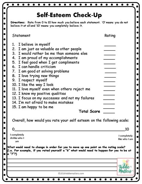 self esteem worksheets for self esteem building small counseling lesson plans