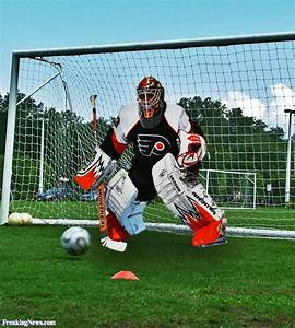 Funny Goalie Pi... Ice Ball Quotes