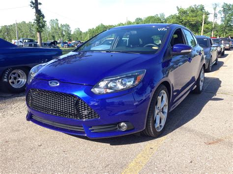Stock 2014 Ford Focus St 1/4 Mile Trap Speeds 0-60