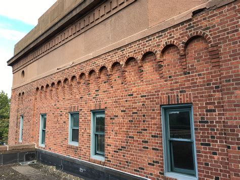Corbeled Brickwork by Brick Corbelling Excavating The Armory
