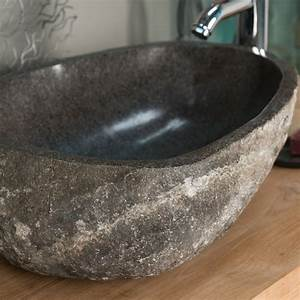 Vasque Poser En Pierre Naturelle Vasque Naturelle