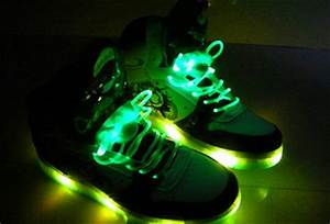Neon Light Up Shoe Laces Flash Light Roller Shoes Flashing