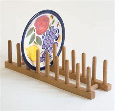 lipper international  bamboo plate pot lid rack pomysly