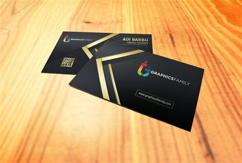 gold business card graphicsfamily