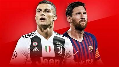 Ronaldo Cristiano Messi Lionel Football League Champions