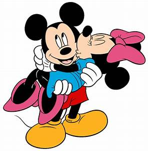 Mickey And Minnie Kissing Clipart (69+)