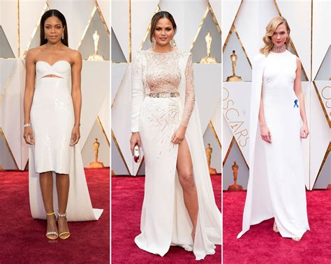 The Oscars Red Carpet Featured Many Bridal Looks
