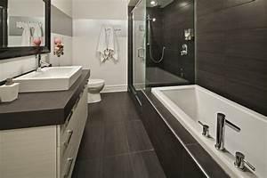 Douche Petit Espace : salle de bain baignoire et douche petit espace recherche google maison pinterest salle ~ Voncanada.com Idées de Décoration