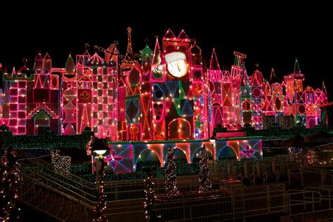 disneyland it s a small world christmas lights desktop