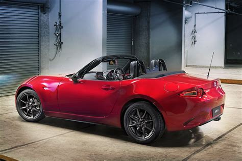 mazda miata mx     hp   spec news