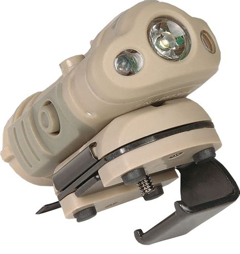 Energizer Hard Case Tactical 1aa Helmet Light With Red Led