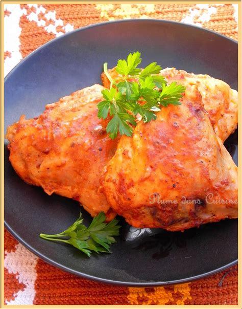 plume cuisine poulet à la marocaine une plume dans la cuisine