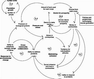 A Causal Loop Diagram  Cld  Of The Key Feedback Operating