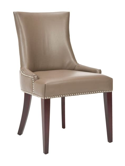 faux leather dining room chairs home furniture design