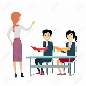 Teacher Talking To Student Clipart – 101 Clip Art