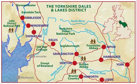 lake district yorkshire dales caspin journeys
