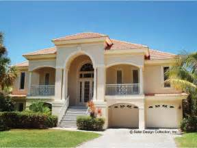 mediterranean home plans with photos eplans mediterranean house plan mediterranean villa 2494 square and 3 bedrooms from
