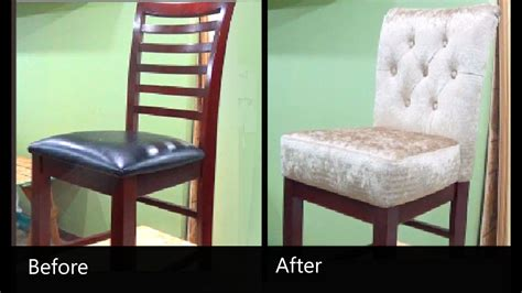 diy   reupholster  chair alo upholstery youtube