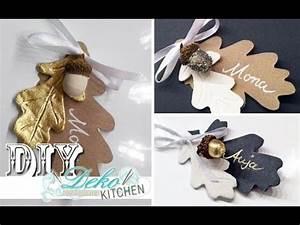 Tischkarten Hochzeit Selber Machen : diy h bsche tischkarten oder geschenkanh nger selber machen deko kitchen youtube ~ Orissabook.com Haus und Dekorationen
