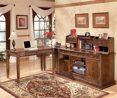 ashley furniture l shaped desk ashley signature design hamlyn 4 piece modular l shaped