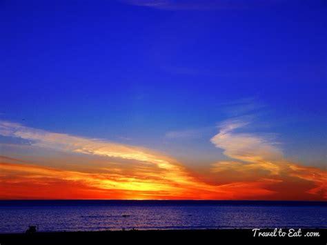 Sunset In Santa Monica, California  Travel To Eat
