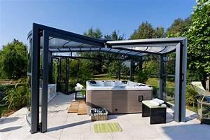 Spa En Bois Pas Cher : abri pour spa exterieur maison design ~ Premium-room.com Idées de Décoration