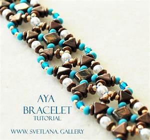Aya Bracelet Beading Pattern