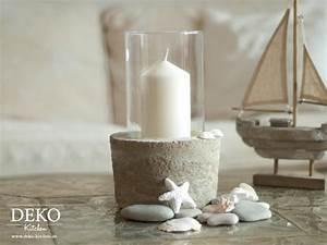 Beton Vase Selber Machen : diy coole deko vase mit betonsockel deko kitchen ~ Markanthonyermac.com Haus und Dekorationen