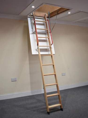 Wooden Loft Ladder   Loft Ladders   BPS Access Solutions